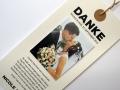 Danksagungskarte Hochzeit Texteinlage mit Foto