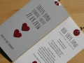 Danksagungskarte Hochzeit LOFTY in grau