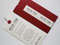 Danksagungskarte Hochzeit Be Pure in Red