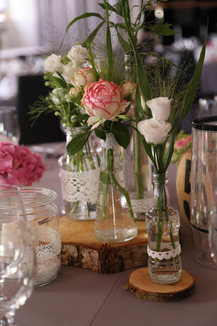 VINTAGE-Tischdeko 20 Lovely Einladungskarten Hochzeit Innentext