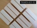 Menükartenhalter aus Holz für Ihr Hochzeitsmenü