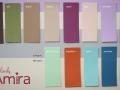 Hochzeitskarte AMIRA Farbpalette für Karte und Banderolen