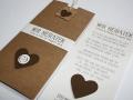 Hochzeitskarte BeNature CHOCO