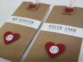 Hochzeitskarte BeNature Red