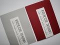 Kirchenheft Be Pure in red und grau