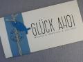 Hochzeitskarte Felina maritim Glück Ahoi