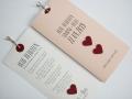 Hochzeitskarte LOFTY in rosa