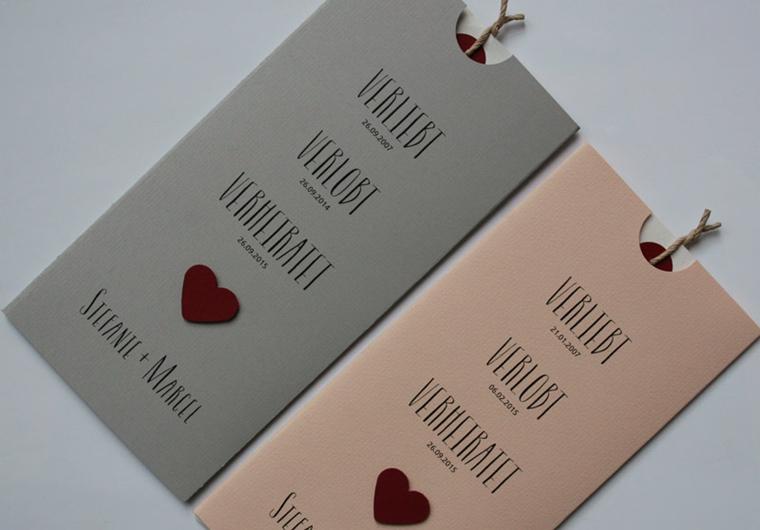 Hochzeitskarten - Einladungskarten - Danksagungskarten von AYLANDO.