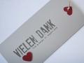 Danksagungskarte Hochzeit / Wedding Thank You Card