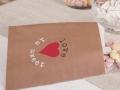 Hochzeitsdeko Kraftpapier Look