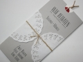 Hochzeitskarte Vintage / Wedding Invitation VINTAGE