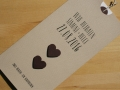 Hochzeitskarte creme / Wedding Invitation creme