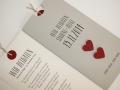 Hochzeitskarte grau / Wedding Invitation grey