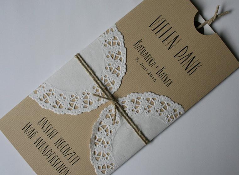 Danksagungskarten Hochzeit I Aylando Hochzeitskarten