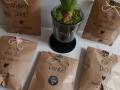 Hochzeit bedruckte Geschenktüten aus Kraftpapier