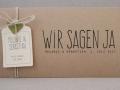 Hochzeitskarte-Kraftpapier-Herz-oliv-Schrift-VINTAGE2