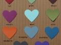 Hochzeitskarte BeNature mögliche Farben