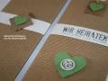 Hochzeitskarte BeNature Green