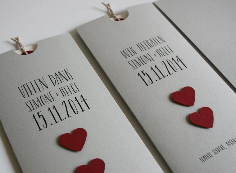 Hochzeitskarten Von Aylando: Hochzeitseinladungen Naturpapier