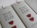 Hochzeitskarte LOFTY grau Einladungs- und Danksagungskarte