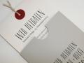 Hochzeitskarte LOFTY grau Detailansicht