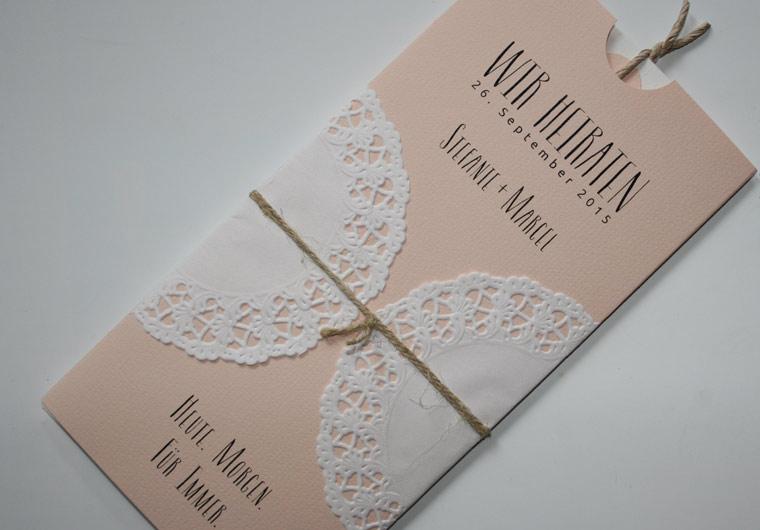 Personalisierte Geschenkanhanger Hochzeit Aus Kraftpapier