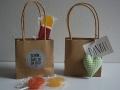 Geschenktüten Hochzeit Kraftpapier mit Henkel