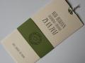 Hochzeitskarte Amira elfenbein oliv