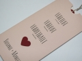 Hochzeitskarte rosa