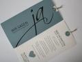 Hochzeitskarte bluegrey