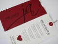 Hochzeitskarte rot