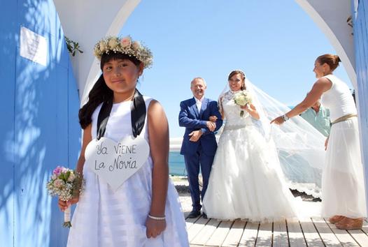Claudia und Patric Nussbaumer - Hochzeit am Strand