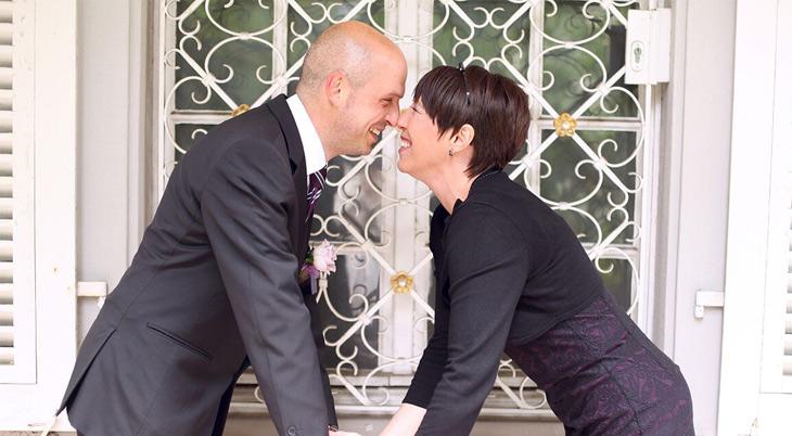 Diana und Frank Vosseler Aylando Brautpaargalerie