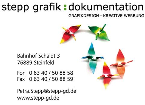 Werbeagentur stepp grafik:dokumentation