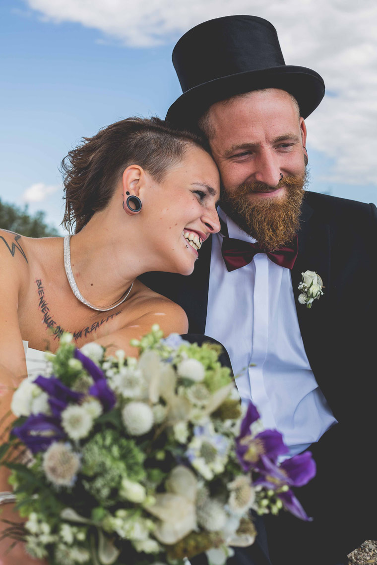 Magda und Hannes Aylando Brautpaargalerie