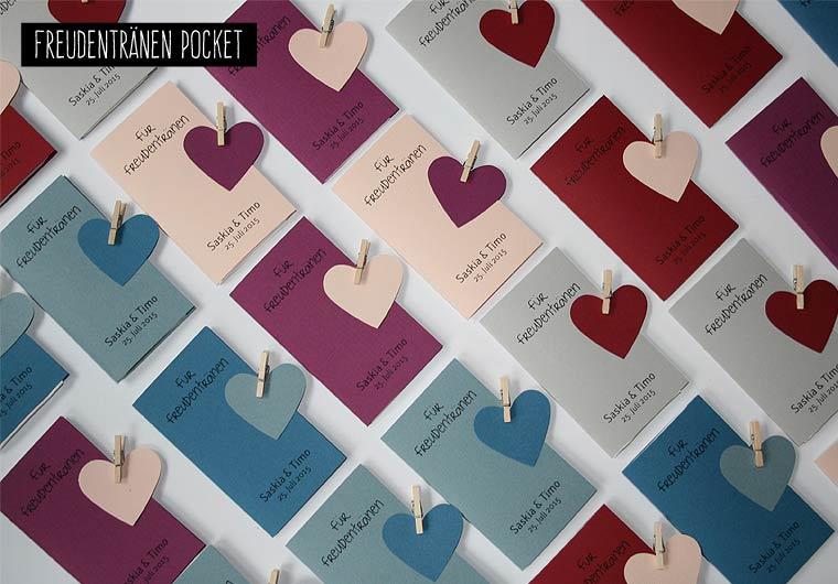 Freudentränen POCKET in verschiedenen Farben möglich