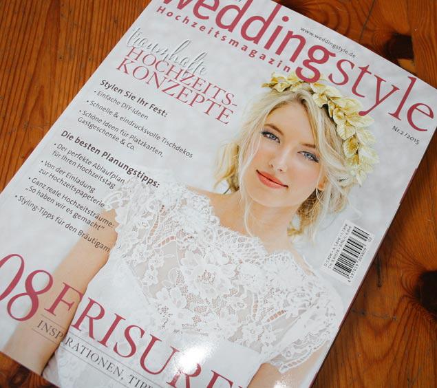 Weddingstyle schreibt über Aylando Hochzeitskarten