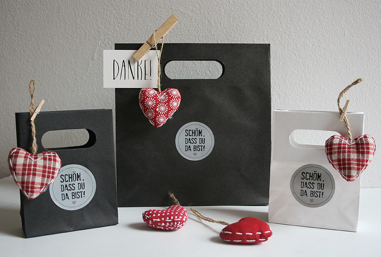 Geschenktüten Hochzeit zur Verpackung Ihrer Gastgeschenke