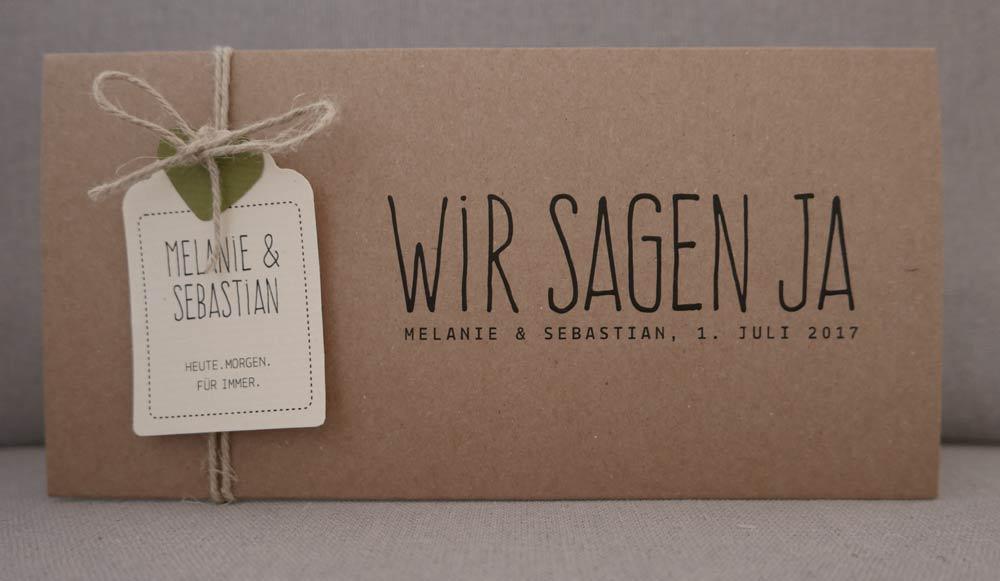 Aylando hochzeitskarten hochzeitseinladungen naturpapier - Hochzeitseinladungskarten vintage ...
