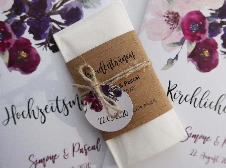 Taschentücher für Freudentränen Annabell Vintage Romantic Floral