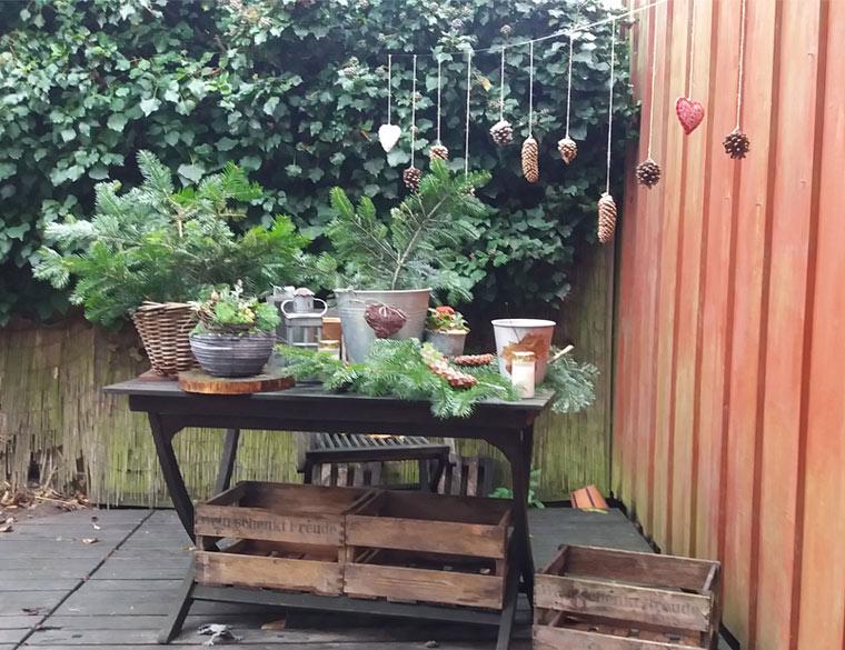 Winterdeko Aylando Garten